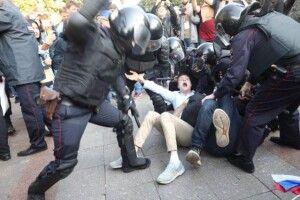 Росія звинуватила США в організації масових протестів у Москві