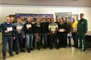 Оваднівські майстри отримали сертифікати