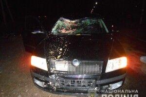 У Сарнах п'яний підліток на батьковій машині на смерть збив велосипедиста