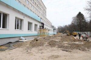 Як ремонтують Луцьку міську клінічну лікарню (Фото)