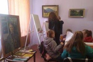 Рожищенський музей перетворився на художню студію