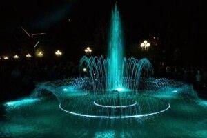 У  центрі Рівного запрацювали два найбільших фонтани