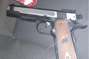 На «Ягодині» прикордонники вилучили зброю