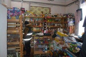 У Турійському районі пограбували магазин (Фото)