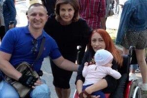 Марина Порошенко передала засоби захисту від коронавірусу Університету «Україна», де навчаються тисяча студентів з інвалідністю