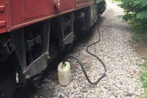 На Волині два машиністи привласнили дизельного пального на 130 тисяч гривень.