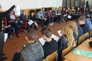 Учнів турійських шкіл навчали бути лідерами