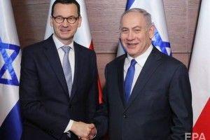 Отакої: прем'єр Польщі скасував візит до Ізраїлю після коментарів Нетаньяху