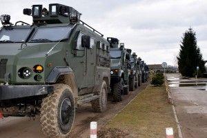 Сучасні бронеавтомобілі «Варта» отримали морські піхотинці (Фото)