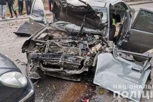 Масштабна ДТП у Рівному: одна людина загинула, восьмеро травмовані