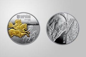 На нових українських грошах... золотий кінь!