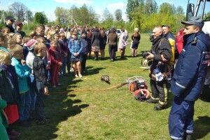 У Ратнівському районі під час «пожежі» евакуювали дітей