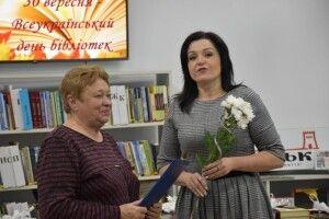 Лучанка отримала професійну відзнаку «За відданість бібліотечній справі»