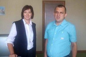 Новообрана голова обласної ради готова попрацювати іззав'язаними очима