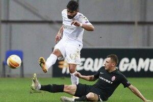 «Зоря» зазнала другої поспіль поразки в Лізі Європи