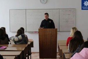 Глава волинських правоохоронців запросив студентів у поліцейську родину (Фото)