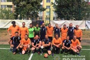 Рівненські поліцейські позмагалися із британцями і данцями на футбольному полі