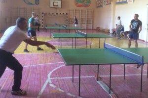 У Старій Вижівці відбувся перший відкритий турнір з настільного тенісу