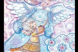 Їй ангел допомагає…