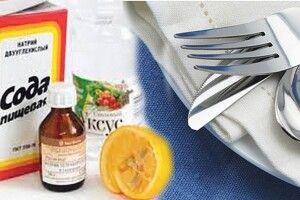 Народні методи очищення виделок і ложок