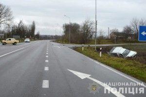 У Луцькому районі в ДТП травмувалися водій та двоє пасажирів