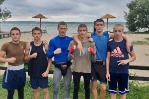 На базі УСБУ у Волинській області на Світязі тренувались спортсмени