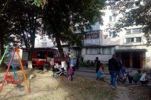 У Луцьку вогнеборці врятували двох дітей