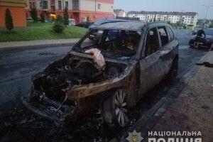 Невідомі підпалили BMW Х5 74-річної рівнянки