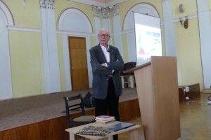Тоні Палмер прочитав лекцію студентам у Луцькому виші (Відео)