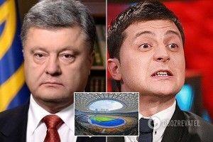 Представники Порошенка, Зеленського та НСК «Олімпійський» уклали тристоронню угоду про дебати