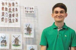 Поштівки поліського художника виставили вБерліні таКиєві