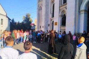 Для вихованців недільних шкіл влаштували свято «Покрова в древньому Лучеську»