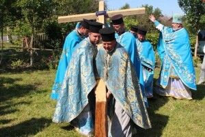 Будівництво жіночого монастиря в Тростянці почалося з молитви