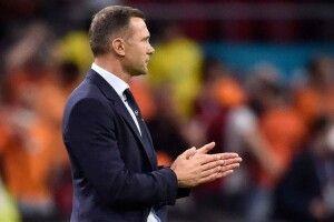 Шевченко після поразки від Нідерландів знайшов, за що похвалити гравців