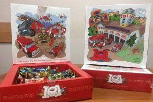 «Наминай солодке – аби червоний півень не клюнув!»: у Рівному кондитери, вогнеборці та художник Огонь розробили «протипожежні» цукерки (фото)