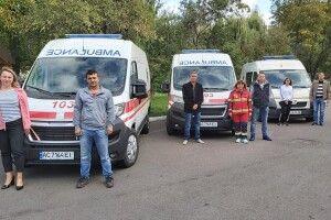 Волинські медики отримали нові спецавтомобілі для виїзду до хворих на коронавірус (фото)