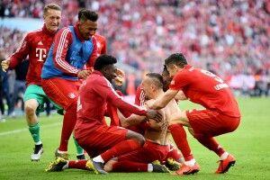 Мюнхенська «Баварія» всьоме поспіль стала чемпіоном Німеччини