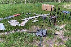 Прикордонники разом з волинською поліцією знайшли у контрабандистів 10 безпілотників