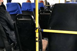Луцький перевізник доставив у салоні автобуса п'ять додаткових сидінь