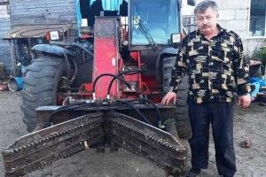 Як сільський умілець «щелепи крокодила» змайстрував