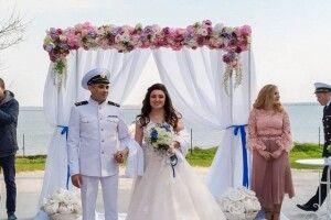 Звільнений український моряк відгуляв весілля