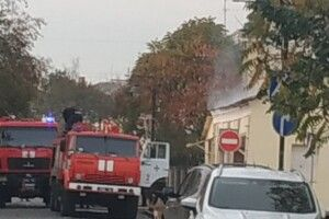 У Луцьку в Старомі місті – пожежа (Відео)