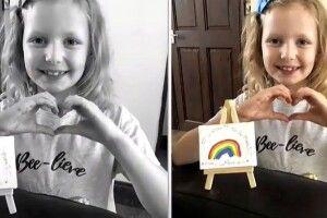 8-річна дівчинка вивчила мову жестів, щоб подякувати водію доставки (Відео)