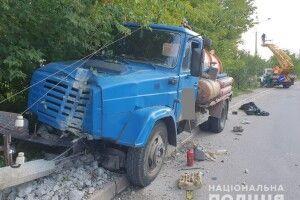 У Рівному просто за кермом помер водій вантажівки