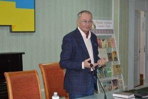 Відомий український письменник, публіцист Володимир Яворівський презентував ковельчанам свій новий роман