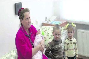 Українка народила 19-ту дитину!