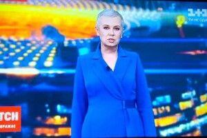 Маніфест на підтримку онкохворих. Алла Мазур вперше вийшла в ефір без перуки (фото)