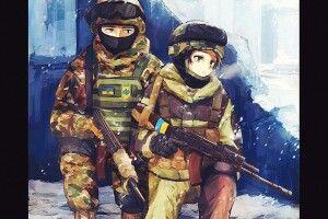 Японці тепер захоплюються не тільки своїми воїнами-самураями, а й українськими кіборгами