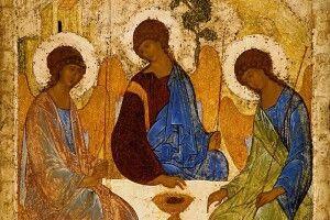 Важкі часи? Моліться доікони «Свята Трійця»