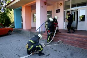Українські рятувальники шліфують профпридатність